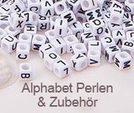 Alphabet Perlen & Zubehör