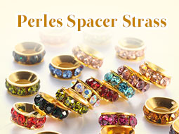 Perles Spacer Strass