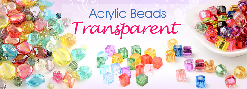 Acrylic Beads Transparent