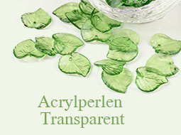 Acrylperlen Transparent