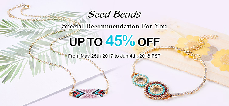 Seed Beads UP TO 45% OFF