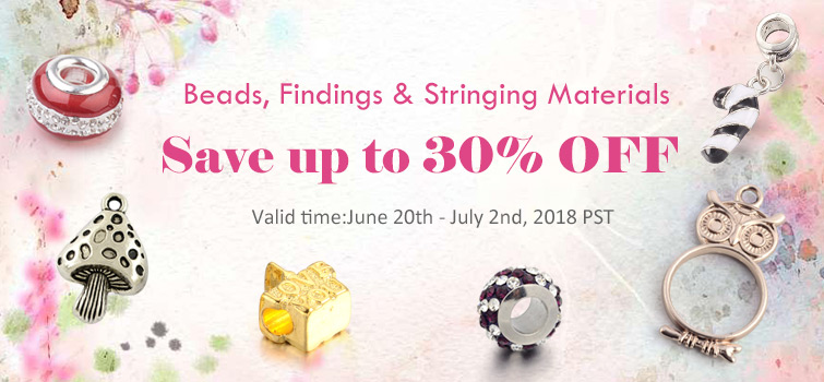 Beads, Findings & Stringing Materials