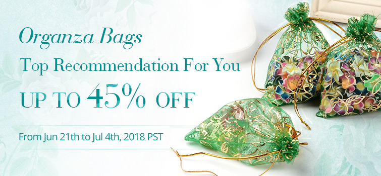 Organza Bag UP TO 45% OFF