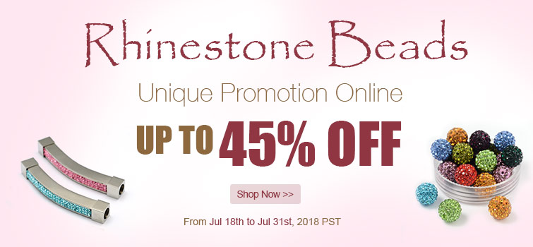 Rhinestone Beads UP TO 45% OFF