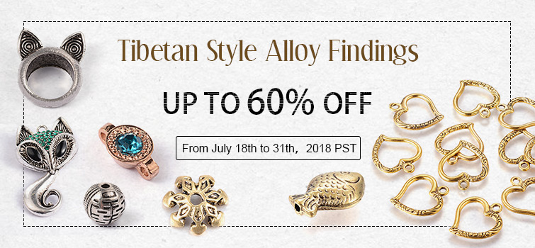 Tibetan Style Alloy Findings UP TO 60% OFF