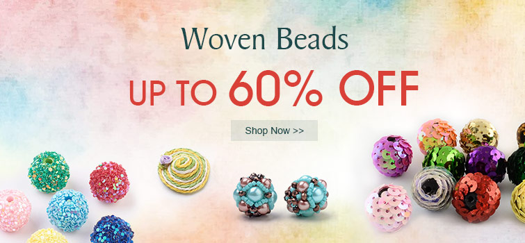 Woven Beads UP TO 60% OFF