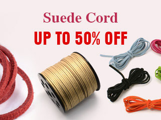 Suede Cord UP TO 50% OFF