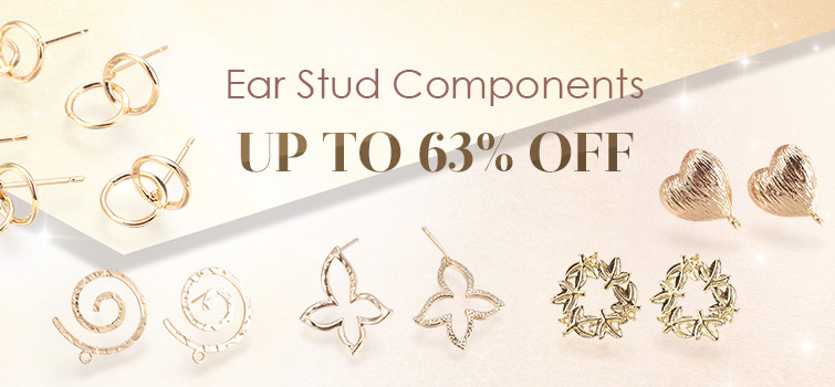 Ear Stud Components UP TO 63% OFF
