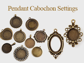 Pendant Cabochon Settings
