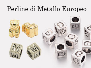Perline di Metallo Europeo
