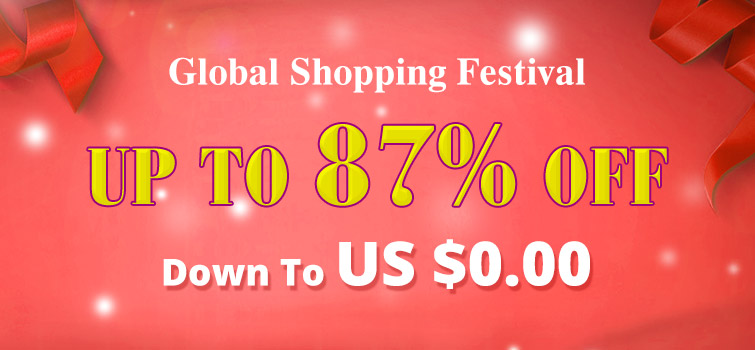 Global Shipping Festival UP TO 87% OFF