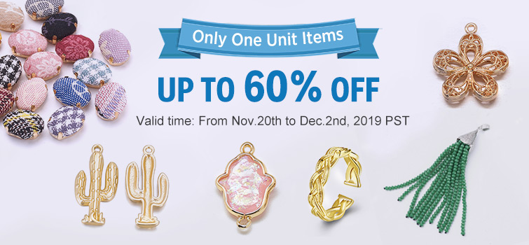 Only One Unit Items UP TO 60% OFF