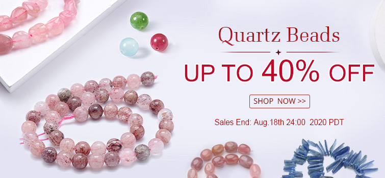 Quartz Beads UP TO 40% OFF