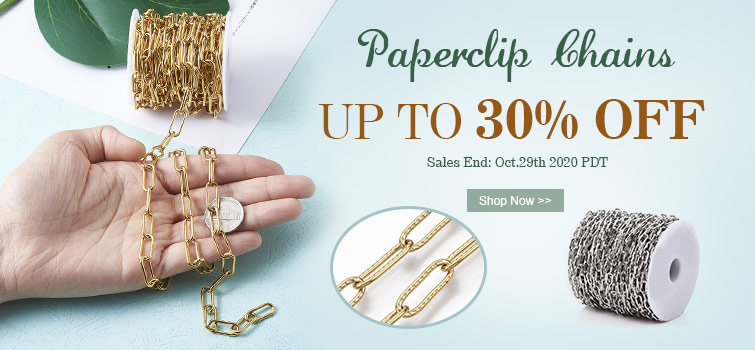 Paperclip Chains UP TO 30% OFF