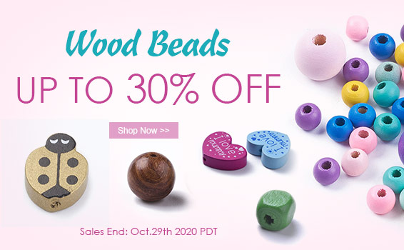 Wood Beads UP TO 70% OFF