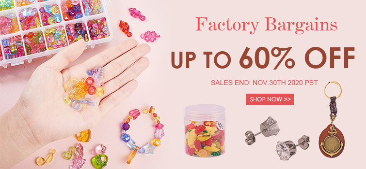 Factory Bargains UP TO 60% OFF