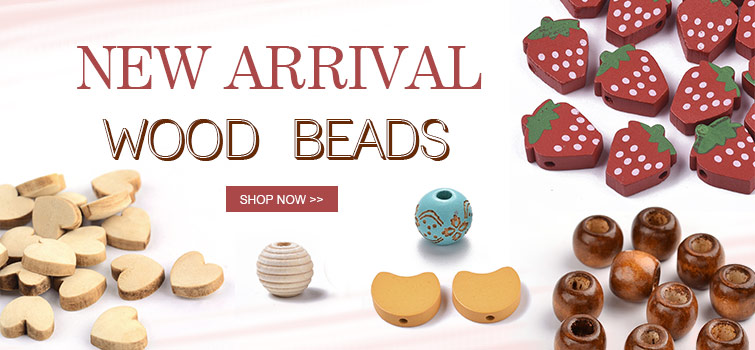 New Arrival--Wood Beads