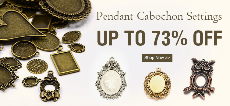 Pendant Cabochon Settings UP TO 73% OFF